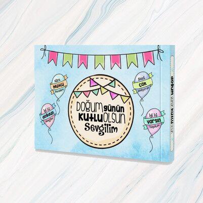 Sevgiliye Doğum Günü Konsept Hediye Kutusu - Thumbnail