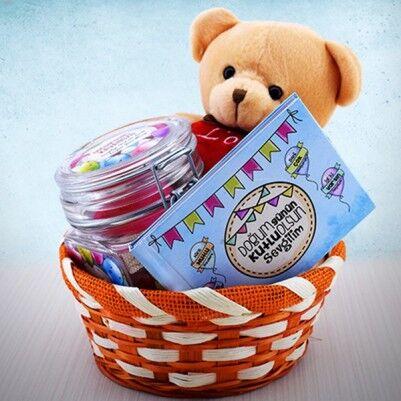 Sevgiliye Doğum Gününe Özel Hediye Sepeti - Thumbnail