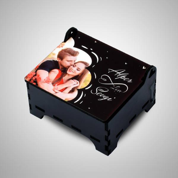 Sevgiliye Fotoğraflı Anı Kutusu