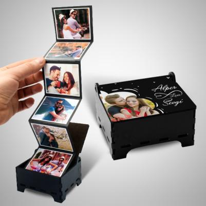 - Sevgiliye Fotoğraflı Anı Kutusu