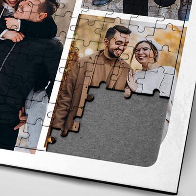 Sevgiliye Hediye Fotoğraf Baskılı Puzzle - Thumbnail