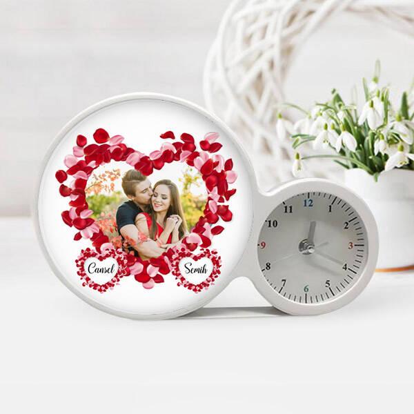 Sevgiliye Hediye Fotoğraflı Sihirli Ayna