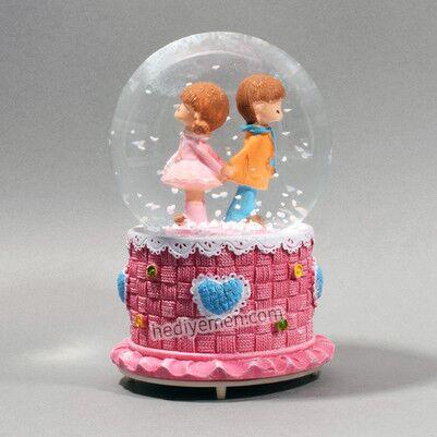 - Sevgiliye Hediye Romantik Kar Küresi - K12