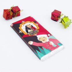 Sevgiliye Hediye Yılbaşı Çikolatası 2'li - Thumbnail