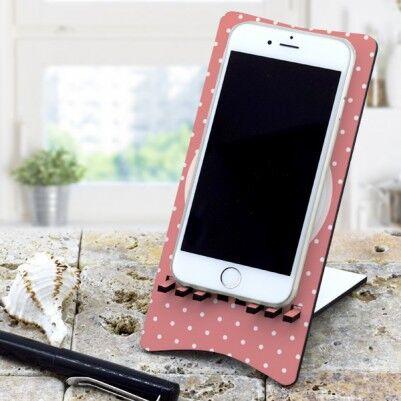 Sevgiliye Özel Ahşap Telefon Standı - Thumbnail