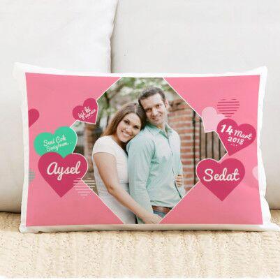 - Sevgiliye Özel Aşkımızın Kokusu Yastık