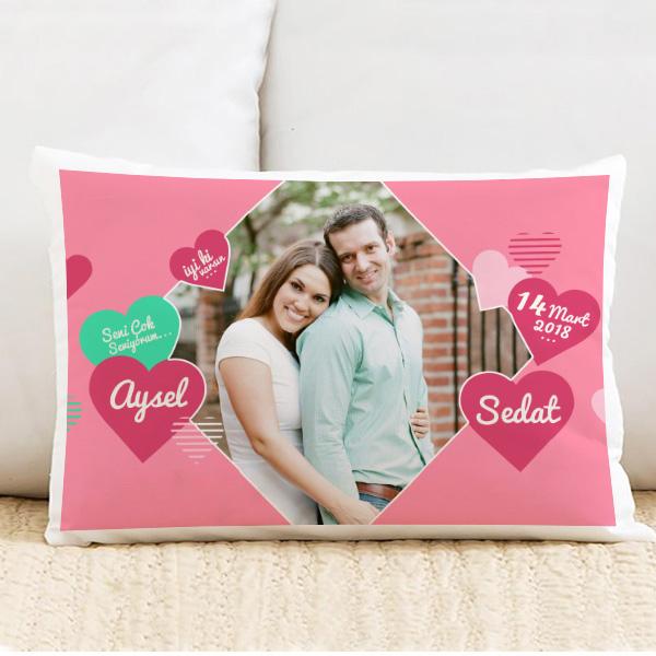 Sevgiliye Özel Aşkımızın Kokusu Yastık
