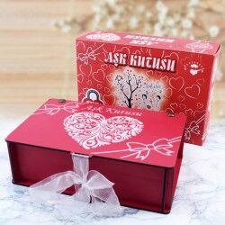 Sevgiliye Özel Romantik Aşk Kutusu - Thumbnail