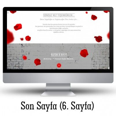 Sevgiliye Özel Web Sitesi - Thumbnail