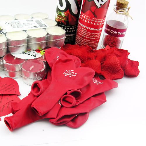 Sevgiliye Romantik Sürpriz Kutusu