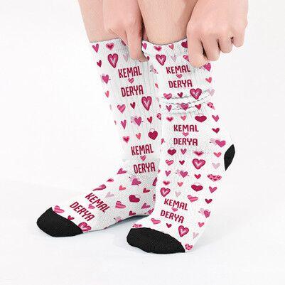 - Sevgiliye Sevgililer Günü Hediyesi Çorap