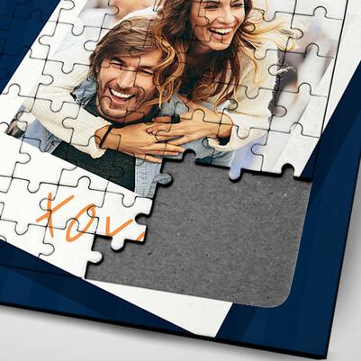 Sevgiliye Sürpriz 2 Fotoğraflı Puzzle - Thumbnail