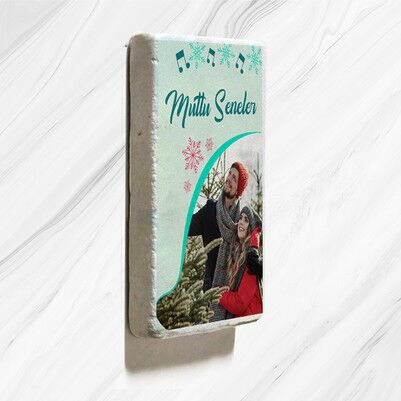 - Sevgiliye Yılbaşı Hediyesi Taş Buzdolabı Magneti