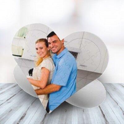 - Sevgiliye Özel 27 Parça Kalp Puzzle