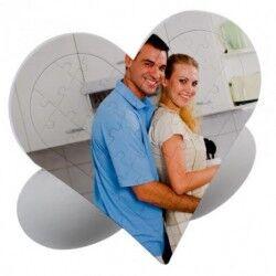 Sevgiliye Özel 27 Parça Kalp Puzzle - Thumbnail