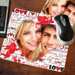 - Sevgiliye Özel Fotoğraf Baskılı Mousepad