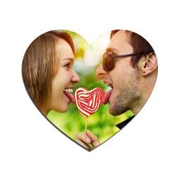 Sevgiliye Özel Kalp Magnet - Thumbnail