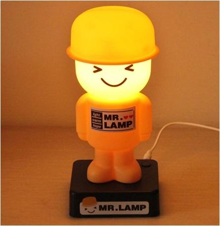 Sevimli Asker Gece Lambası Mr LAMP