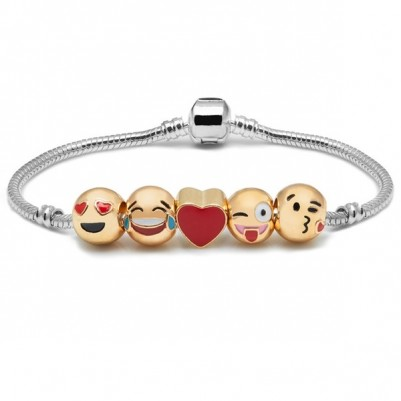 - Sevimli Aşkımız Emoji Bileklik ML41