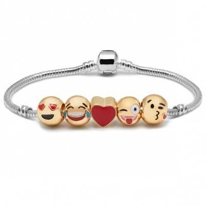 Sevimli Aşkımız Emoji Bileklik ML41
