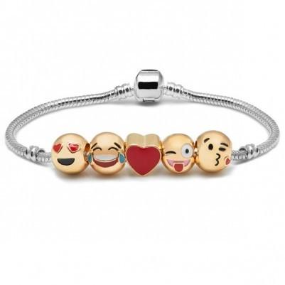 Sevimli Aşkımız Emoji Bileklik ML41 - Thumbnail