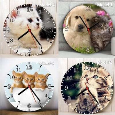 - Sevimli Dostlarımız Tasarım Duvar Saatleri