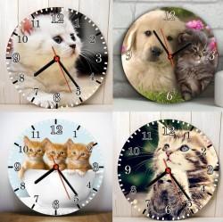 Sevimli Dostlarımız Tasarım Duvar Saatleri - Thumbnail