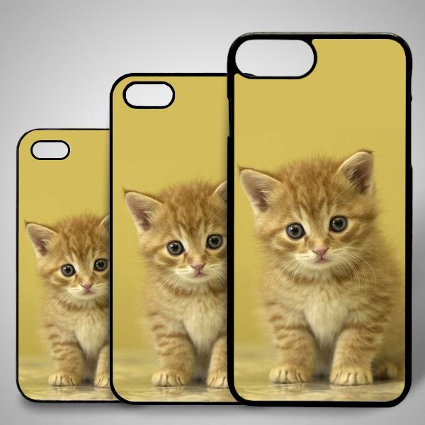 Sevimli Kedicik Temalı iPhone Telefon Kapağı
