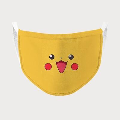 Sevimli Tasarım Yıkanabilir Maske - Thumbnail