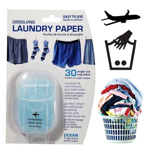 Seyahat İçin Pratik Çamaşır Sabunu