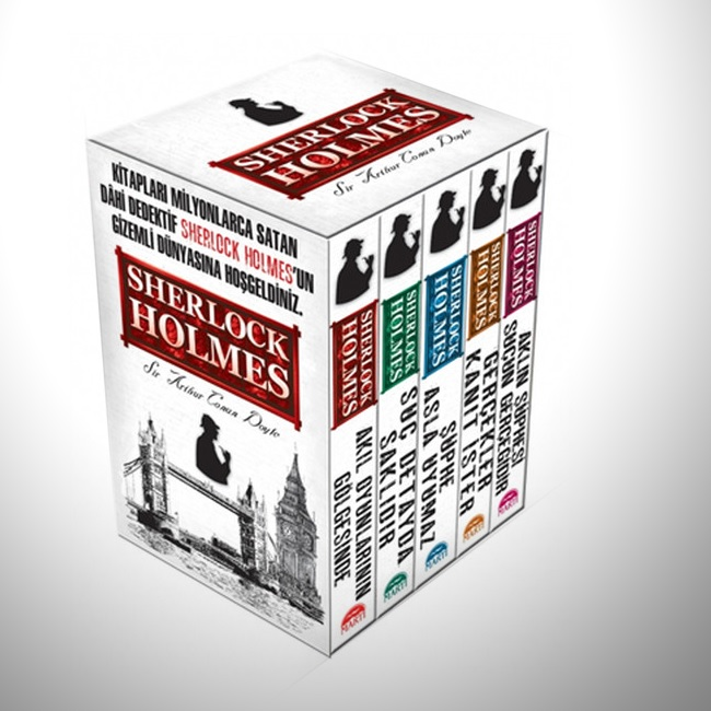 Sherlock Holmes 5 Kitaplı Set