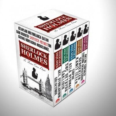 - Sherlock Holmes 5 Kitaplı Set