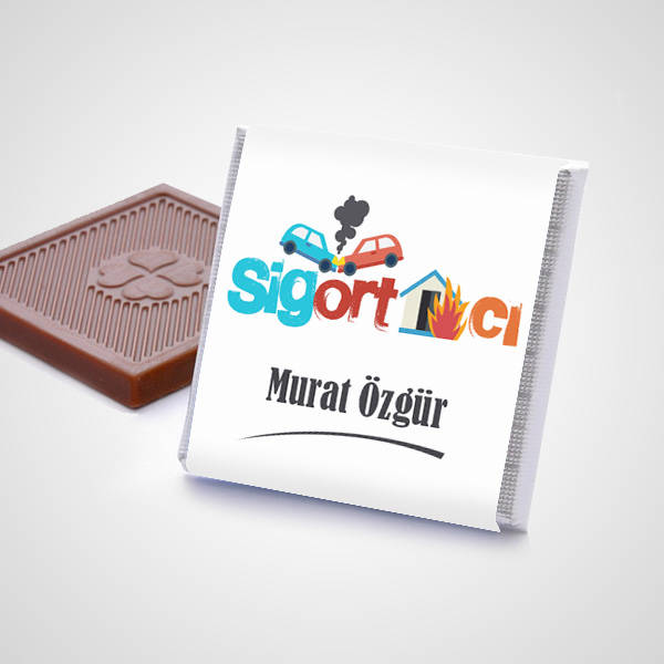 Sigortacılara Özel Çikolata Kutusu