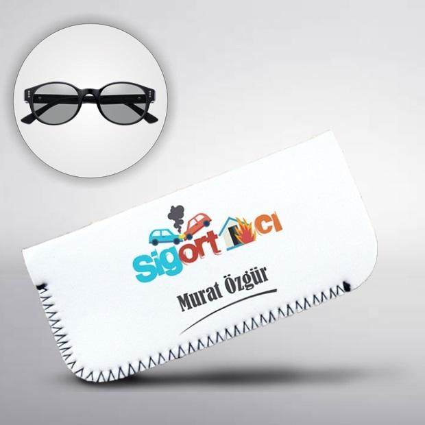 Sigortacılara Özel Gözlük Kılıfı
