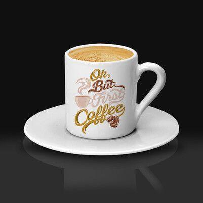 Şık Tasarımlı Kahve Fincanı - Thumbnail