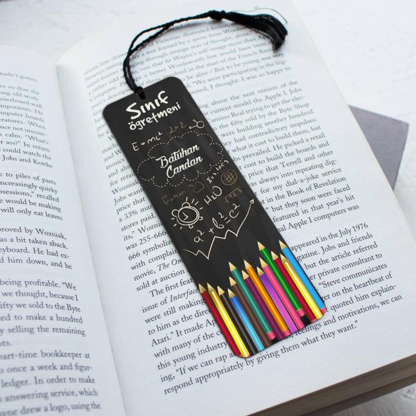 Sınıf öğretmenine Hediye Kitap Ayracı Hediyemencom