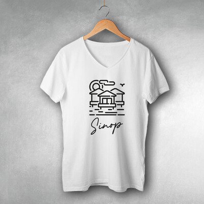 - Sinop Tasarımlı Tişört
