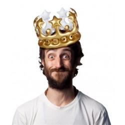 - Şişme Kral - Kraliçe Tacı