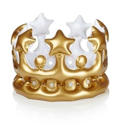 Şişme Kral - Kraliçe Tacı
