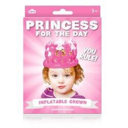 Şişme Prenses Tacı Pembe - Thumbnail