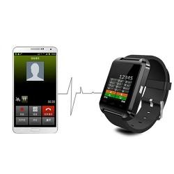 Smart Watch - Siyah Akıllı Kol Saati - Thumbnail