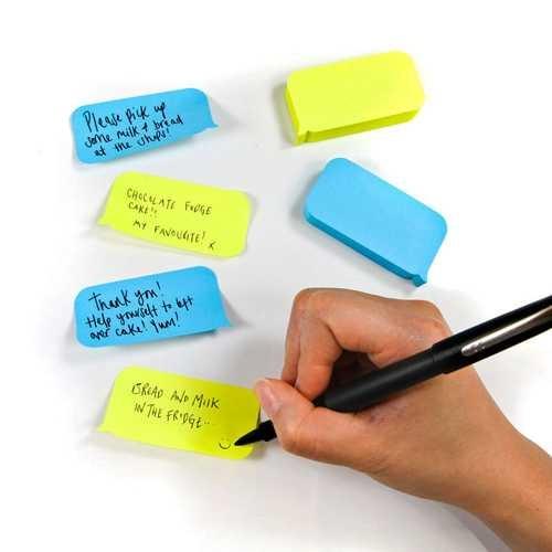 SMS Mesaj Balonu Yapışkanlı Not Kağıtları