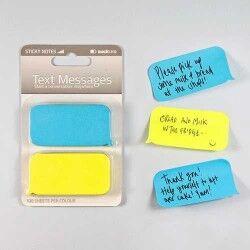 SMS Mesaj Balonu Yapışkanlı Not Kağıtları - Thumbnail