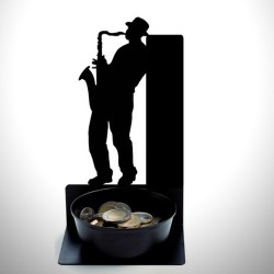 - Sokak Çalgıcısı Bozuk Para Çanağı