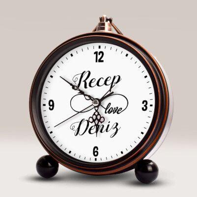 - Sonsuz Aşk Temalı İsme Özel Çalar Saat