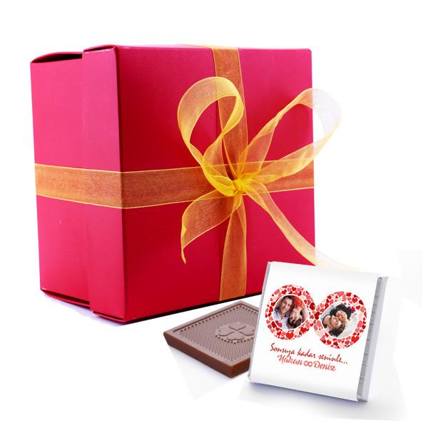 Sonsuz Aşkımız Çikolata Hediyesi