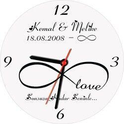 Sonsuz Aşkımız Duvar Saati - Thumbnail