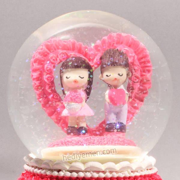 Sonsuz Aşkımız Temalı Kar Küresi - KB16