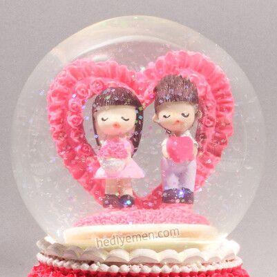 Sonsuz Aşkımız Temalı Kar Küresi - KB16 - Thumbnail