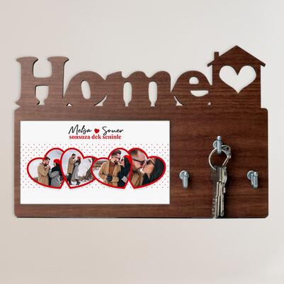 - Sonsuza Dek Seninle Home Anahtarlık Askısı
